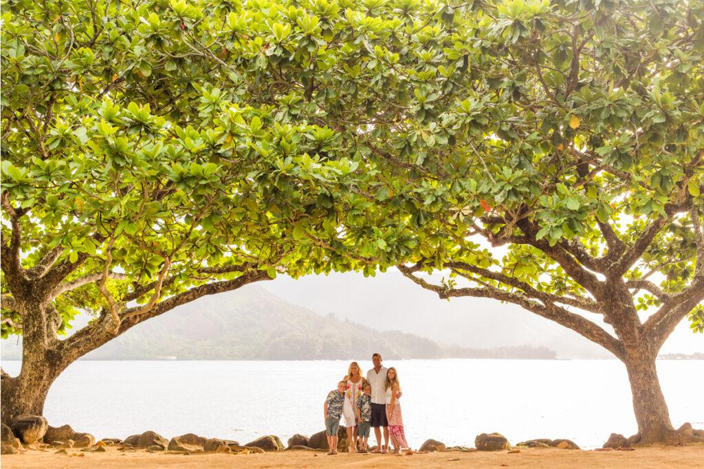 Sea Forest Design Owner Sasha Averdick and her family